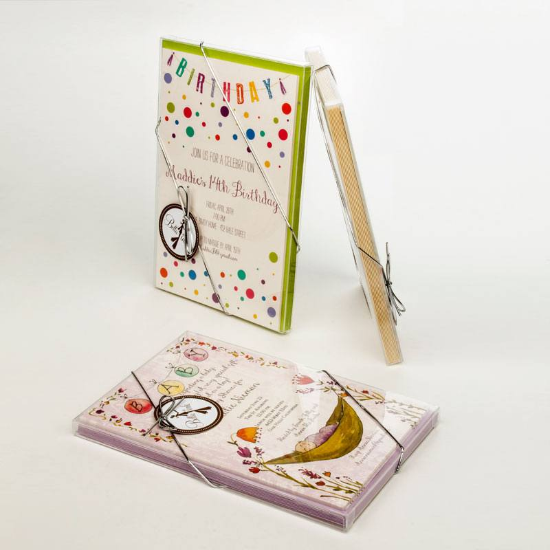 Greeting card box we stock two styles of boxes in various card sizes m4hsunfo Choice Image