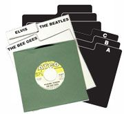 45rpm Record Divider Cards