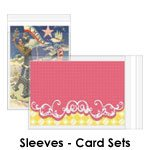 Greeting Card sleeves for Sets