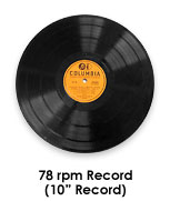 78 rpm record supplies