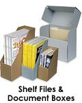 Shelf Files and Document Boxes