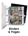 Trading Card Binders and Pages