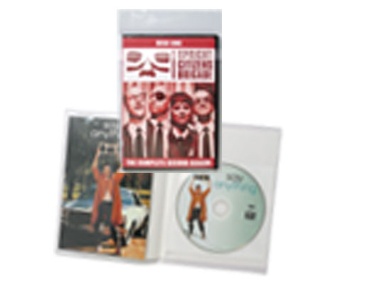 DVD Poly Sleeves