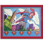 SUPER POWERS Puzzle & Frame Kit