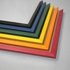 "Colori 3/4"" wide moulding. 6 color choices."