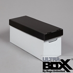 45 Record Storage Box, PLASTIC Corrugated
