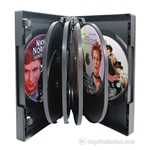 VERSApak Multiple DVD Case. BLACK case & trays.