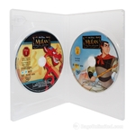 DOUBLE DVD Replacement Case