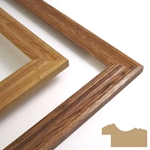 Assembled Solid Oak Frame