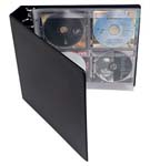 "3-Ring Binder. 1-1/2"" capacity D-ring with label holder."