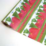 "Holiday Gift Wrap. 8"" x 100'."