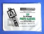 POLYPROPYLENE Sleeves for Photos