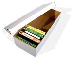 VHS Tape Storage Box - Corrugated Cardboard.