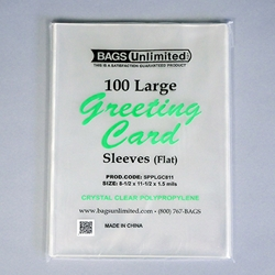 Sleeves for Greeting Cards