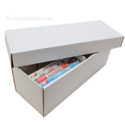 DVD Storage Box - Corrugated Cardboard