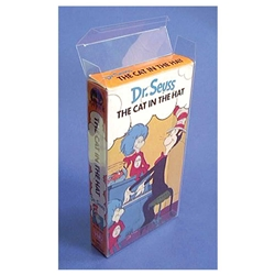 VHS Case Box Protector-Clear Vinyl