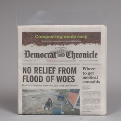 Folded Newspaper Sleeve - Current