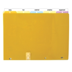 A4 Binder Indexed Dividers