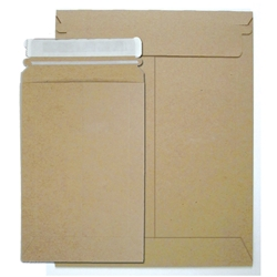 "Stayflat Utility Mailers .015"" thick Brown Kraft"