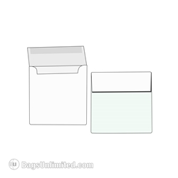 White Envelope for Instax and Polaroid Frames.