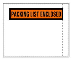 Packing List Envelopes. Adhesive-backed. 1000 per case.