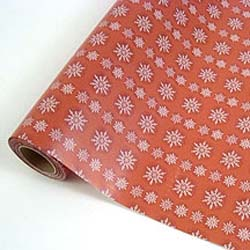 "Holiday Gift Wrap. 16"" x 100'."