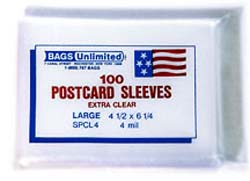 LARGE Postcard Sleeve