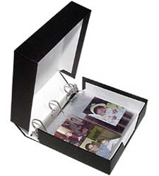 3-Ring Binder. Museum Grade Archival.