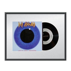 Record Frame for 45 rpm Picture Sleeve & Record
