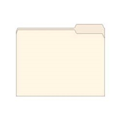 Straight Cut Archival File Folders
