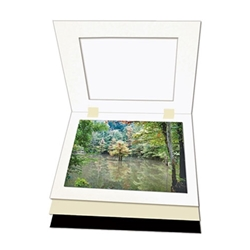 Mats For Photo Display. Two-Piece Display..