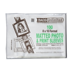 Matted Photo Sleeves
