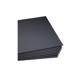 "Black Foam Board 3/16"" Thick"
