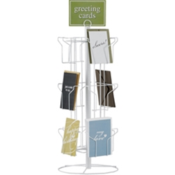 Display Spinner for Greeting Cards
