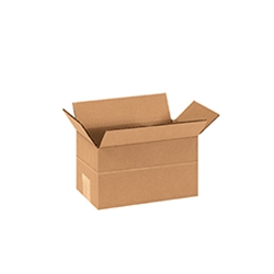 Corrugated Shipping Cartons - Smaller than 12 x 8 x 6""