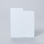 CD Divider Card - WHITE - Use for CDs stored  in xcd100 or xcd100cp.
