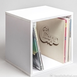 The SheLPf ® Record Cube - WHITE