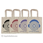 Cotton Tote - Record Design