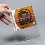 CD Case & Video Game Protector-Crystal Clear