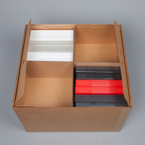 & VHS Tape Storage Box - Holds 48 VHS Tape Snap Cases