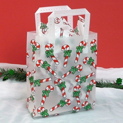 CANDY CANE Frosted Shopper