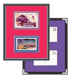 <font color=red>TWO LARGE</font> Postcard Frame Kit