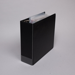 "3 Ring Binder. 3"" capacity slant D-ring."