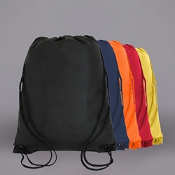 NON-PRINTED Nylon Drawstring Bag