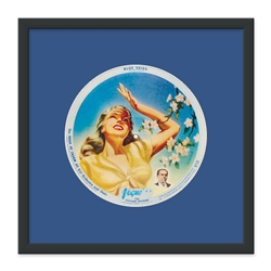 78 rpm Picture Disc Frame Kit. 16-1/2 x 16-1/2