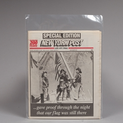Small Tabloid / Folded Newspaper Sleeves