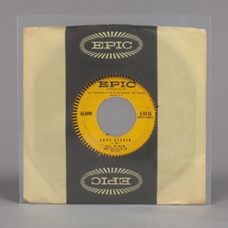 45 rpm Record OUTER Sleeve. <br>7-1/2 x 7-1/4