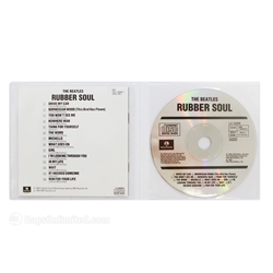 CD Gatefold Sleeve. Center loading.<br>Holds CD in one side and Booklet & Tray Card in the other.<br> 8 gauge semi-rigid VINYL.