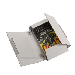 Audio Cassette Mailer - White Corrugated