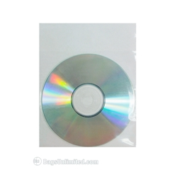 CD Sleeve fits directly over CD.